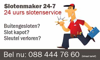 Slotenmaker Zuid-Scharwoude 24 uurs spoedservice