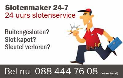 Slotenmaker Harlingen 24 uurs spoedservice