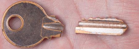 sleutel afgebroken Hoogkarspel